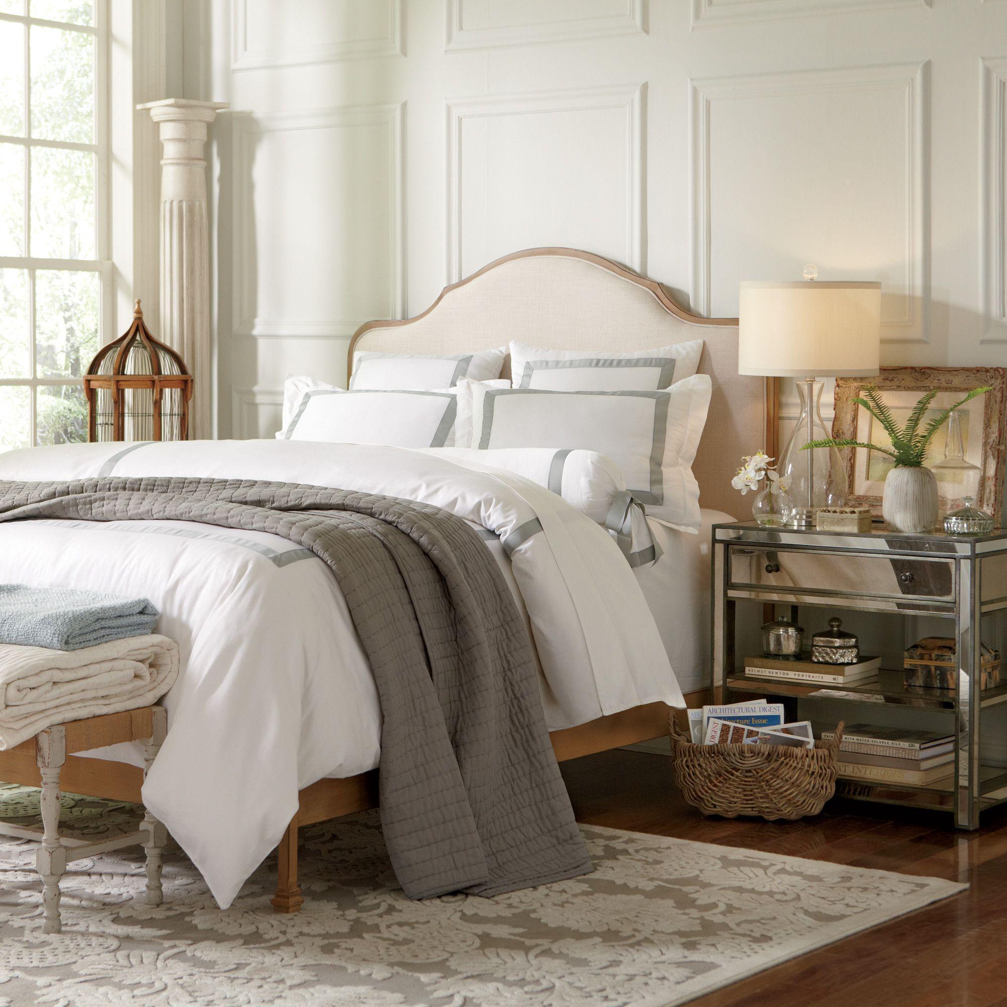 Whitten Upholstered Bed Master Bedroom Pinterest