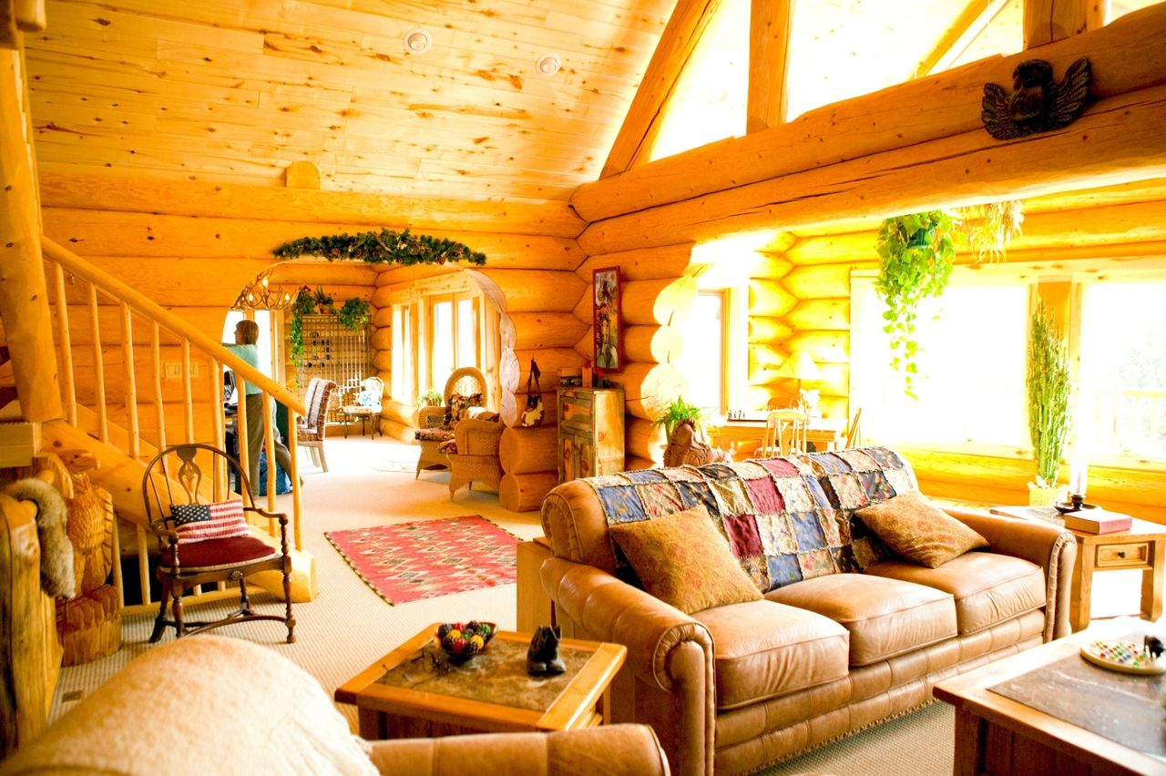 Interiores de casas rústicas | Interiores de casa rústica ...