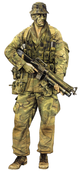 """Patrol member, 4 Tp NZAS, 1970"" | Warriors | Pinterest ..."