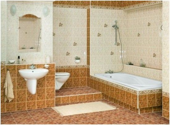 Awesome Elegant Bathroom Floor Tiles Types