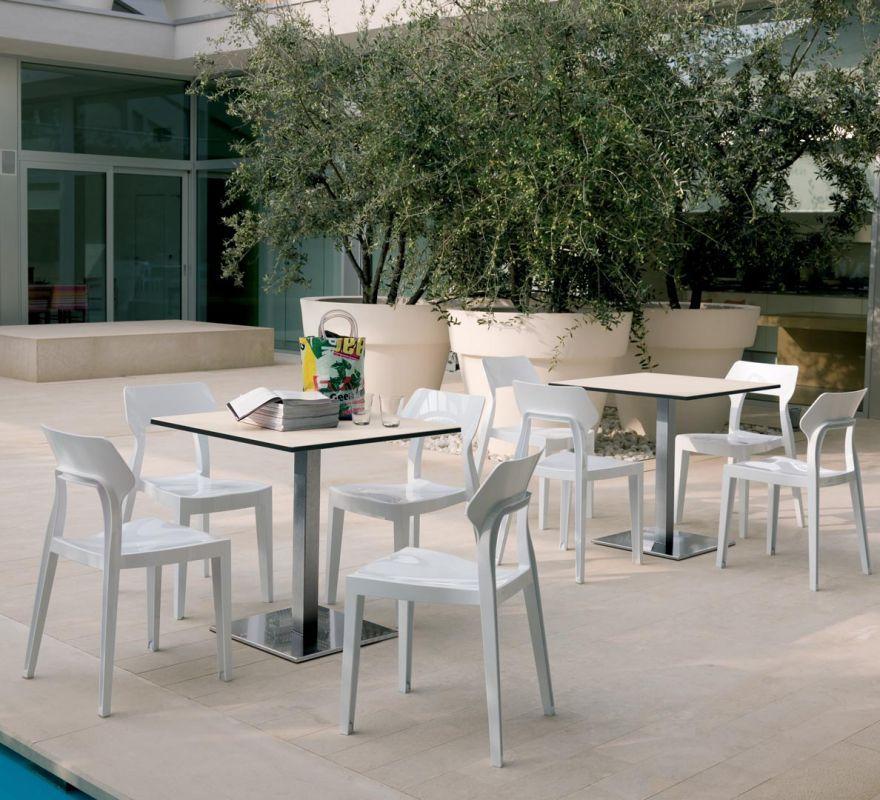 Sedia Bontempi Casa Modello Aria Arredare Moderno Sedie Per Tavolo Rustico Tavoli Per Esterni Mobili