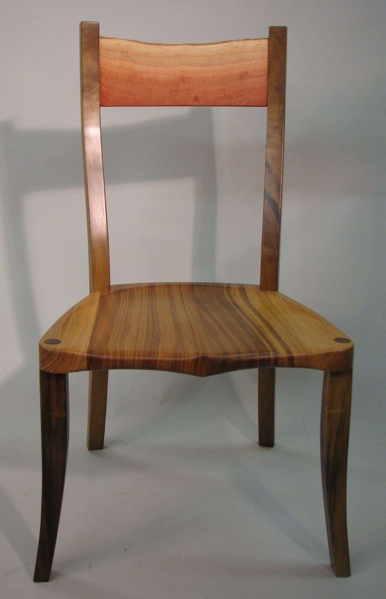 Made Of Walnut And Black Locust And A Rail Out Of Red Gum Eucalyptus It Looks Like A Sunrise Over A Field Of Grain Artisan Furniture Heirloom Furniture Chair