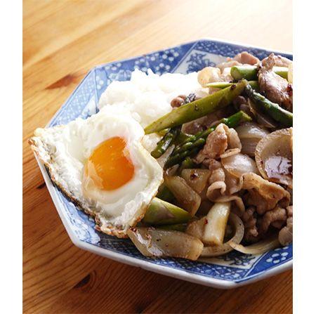 肉野菜炒めプレート