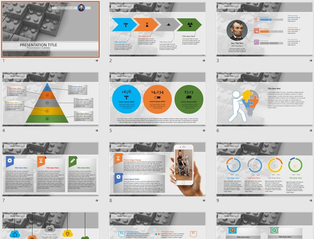 Puzzle blocks powerpoint by sagefox free powerpoint templates by free ukraine map powerpoint by sagefox choose from thousands of quality templates with no fees or registration required new powerpoint templates added toneelgroepblik Images