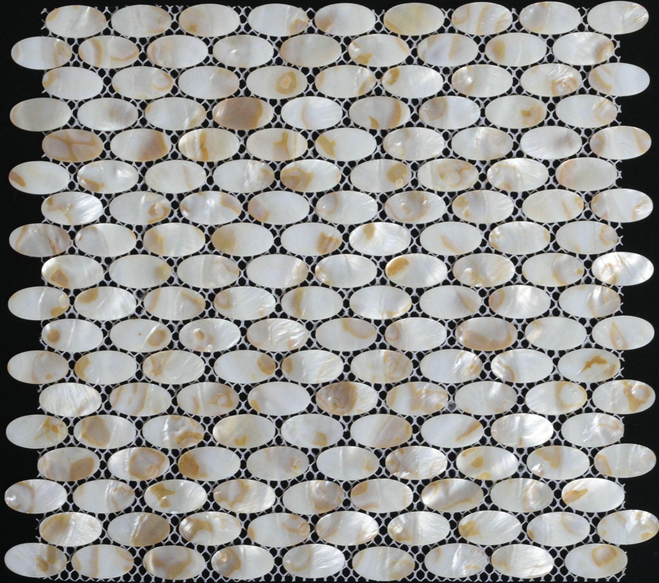 Mother Of Pearl Tile Shell Mosaic Mop009 Sea Kitchen Backsplash Tiles