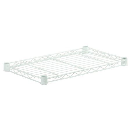 Honey-Can-Do Steel Shelf, 350 Lbs, 18 inch x 48 inch, White
