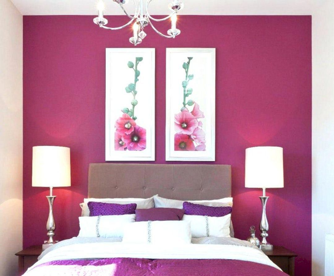 22 Gorgeous Girl Bedroom Decorating Ideas With Pink Paint Color Dexorate Hot Pink Bedrooms Purple Bedrooms Pink Bedrooms