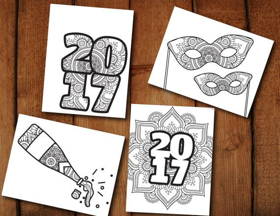 Pdf Of Coloring Pages : New years coloring pages pdf ora exacta