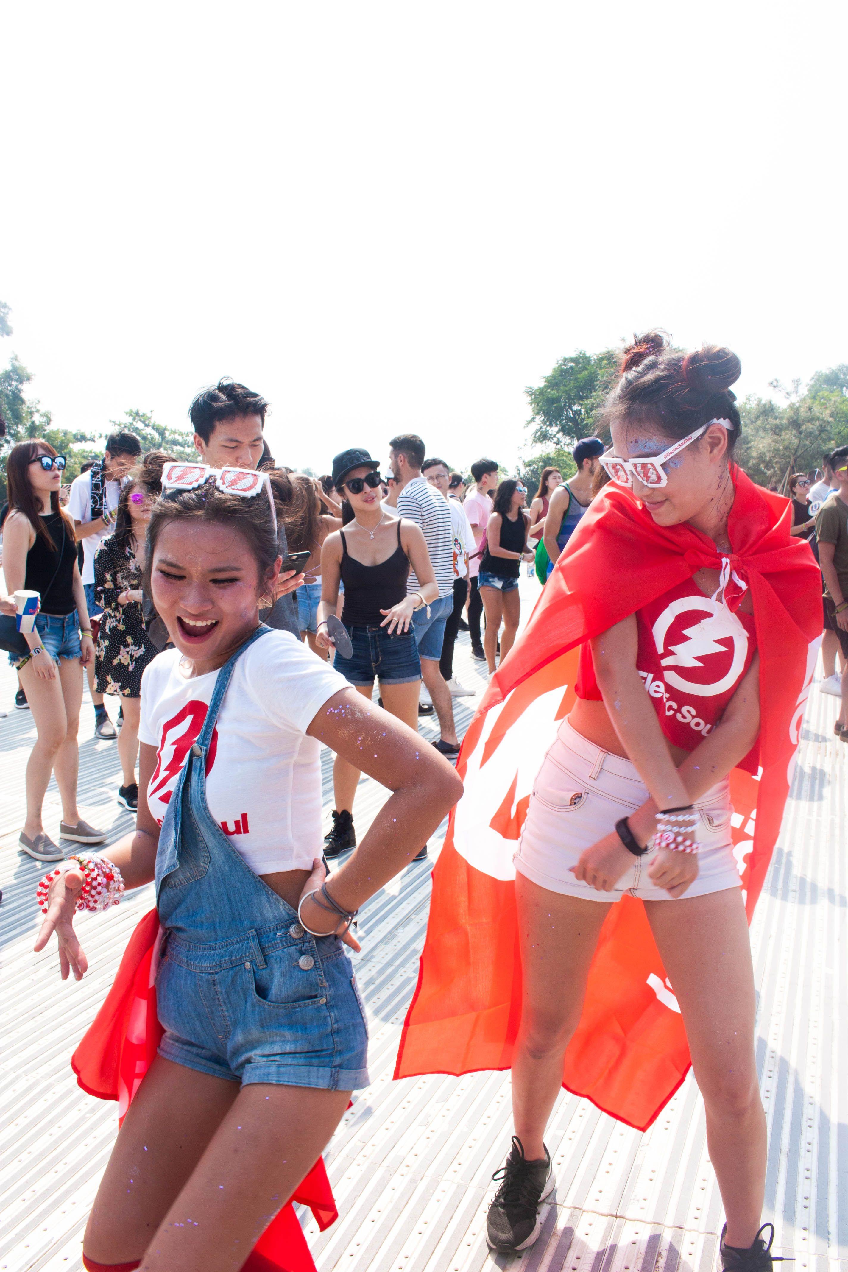 Road to Ultra Hong Kong 👽🦄 - Rave Outfits EDC Hairstyle Makeup ...