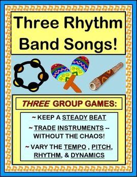 Rhythm Band!' - THREE Active Rhythm Instrument Games | Classroom