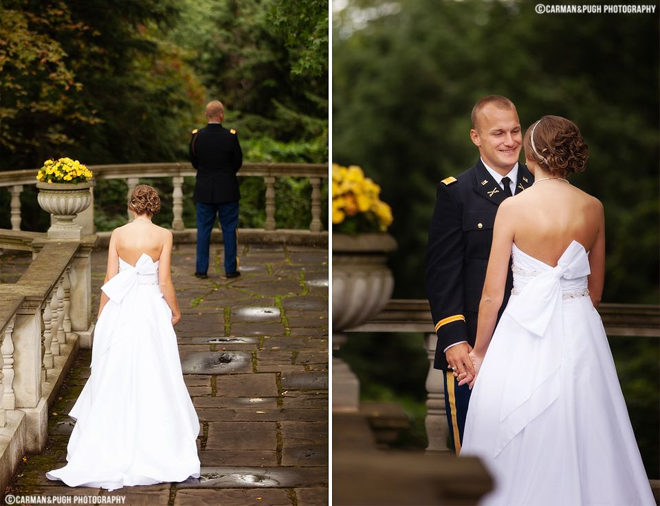 Wedding at Stan Hywet Hall and Gardens
