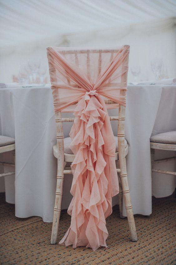 Düğün Sandalyesi Tasarımlarına 20 Başarılı Örnek