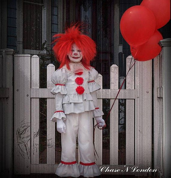 Kids Pennywise It Clown Costume 60 Accousti Circus Pinterest Awesome Pennywise Costume Pattern