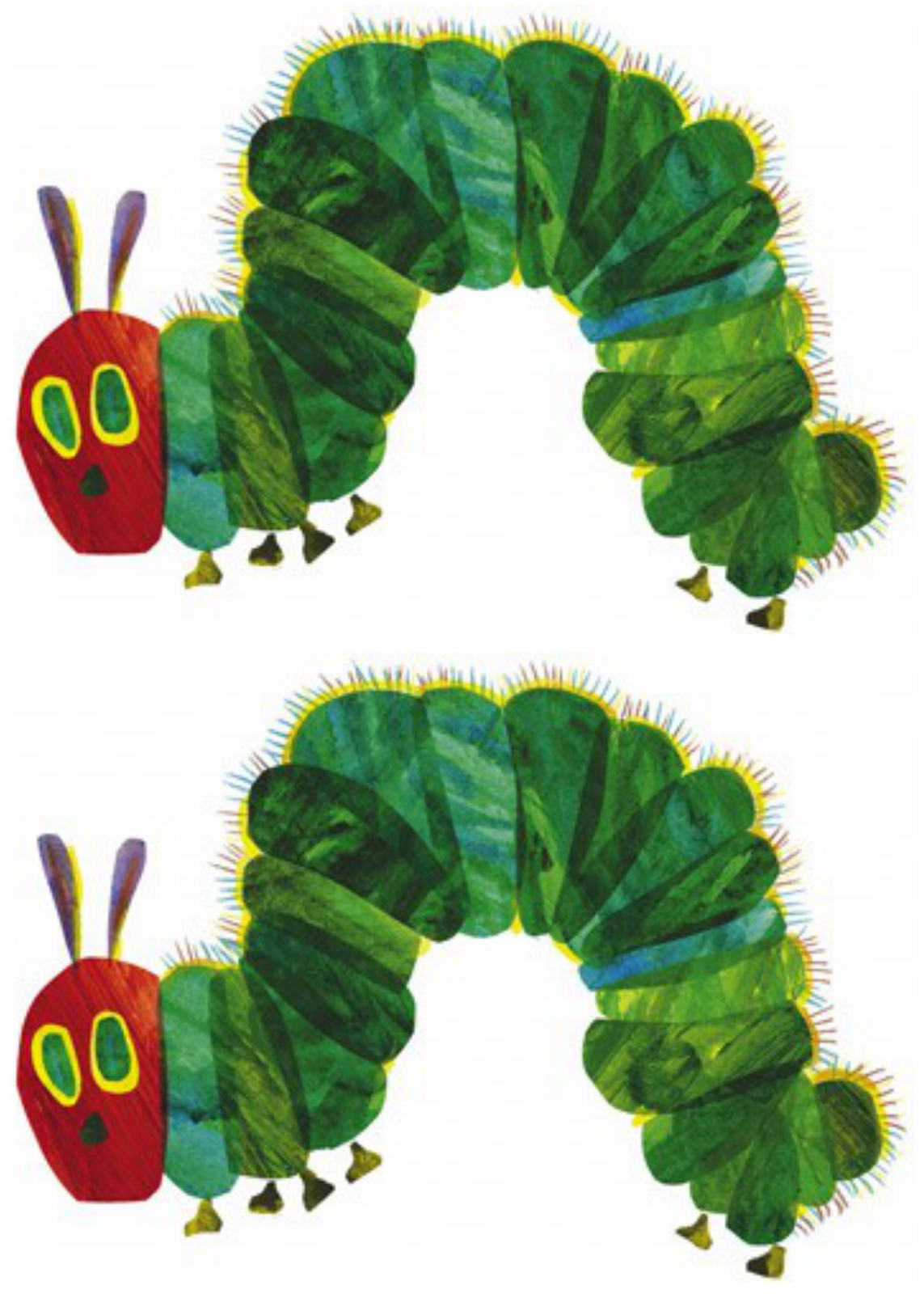 free for personal use very hungry caterpillar clipart of your choice [ 1143 x 1600 Pixel ]