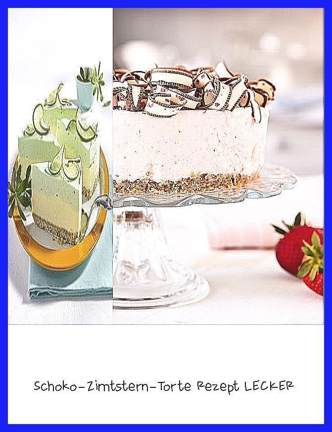 Photo of Schoko-Zimtstern-Torte Rezept  LECKER –  Unser beliebtes Rezept für Limetten-Ph…