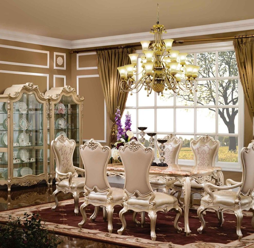 Luxury Dining Sets Dining Room Traditional With High End