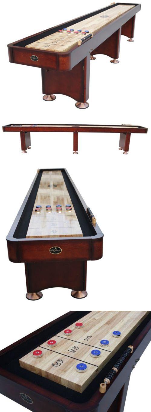 Shuffleboard Playcraft Georgetown Cherry Shuffleboard - Playcraft georgetown shuffleboard table