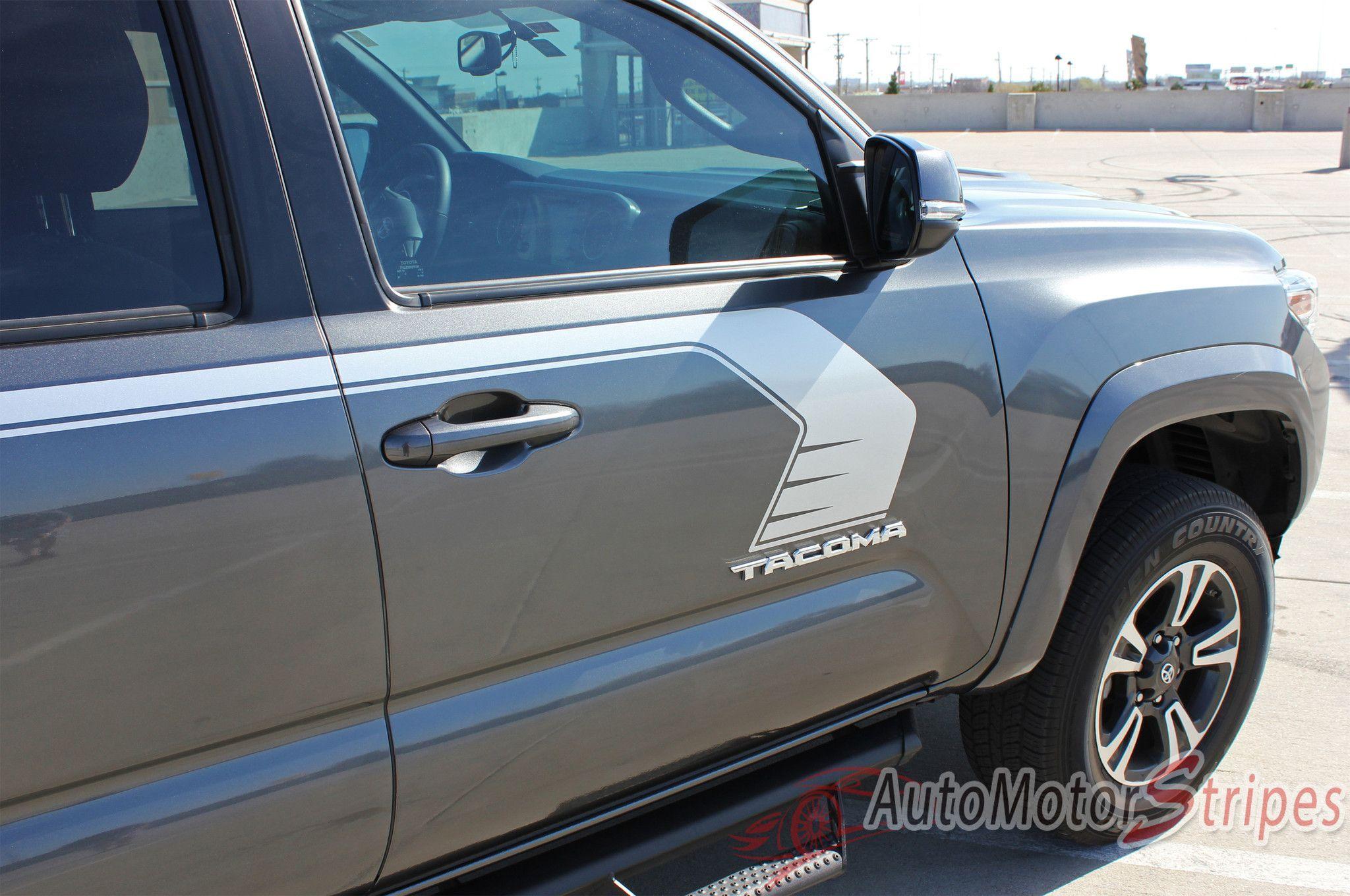 Toyota Tacoma Storm Upper Door Panel Accent Trim - Decal graphics inc