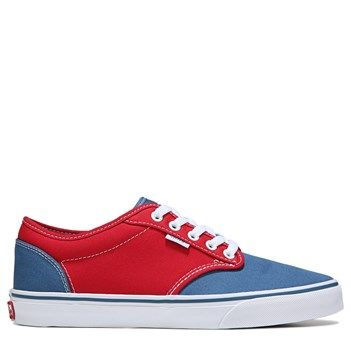 Vans Men's Atwood Sneakers (Red/Blue)