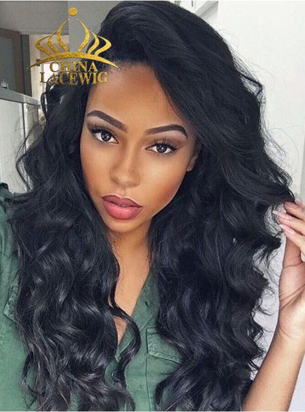 Chinalacewig Brazilian Lace Front Wig 100% Human Hair Loose Wave ...