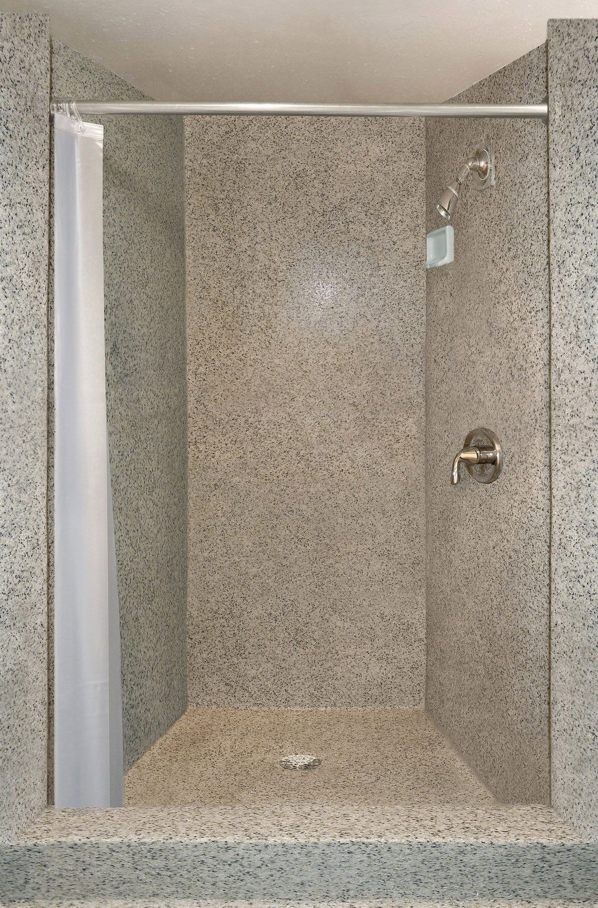Antimicrobial Shower Floors Walls For Public Wet Spaces Shower Floor Epoxy Floor Bathroom Shower Walls