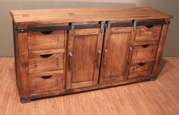 outstanding hallway cabinets furniture | Outstanding Quality Rustic Solid Wood TV Stand ...