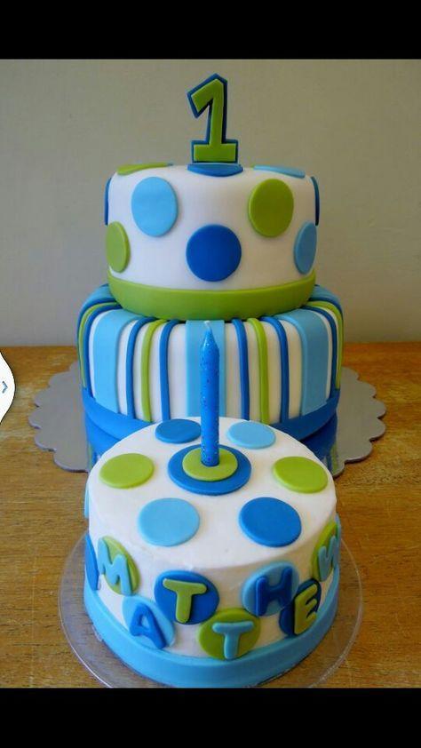 Baby boy cake | Cool birthday cakes, Boys first birthday ...