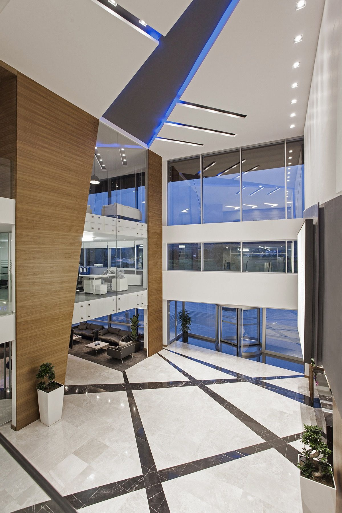 Inside Sampa Automotive S New Headquarters Law Office Design