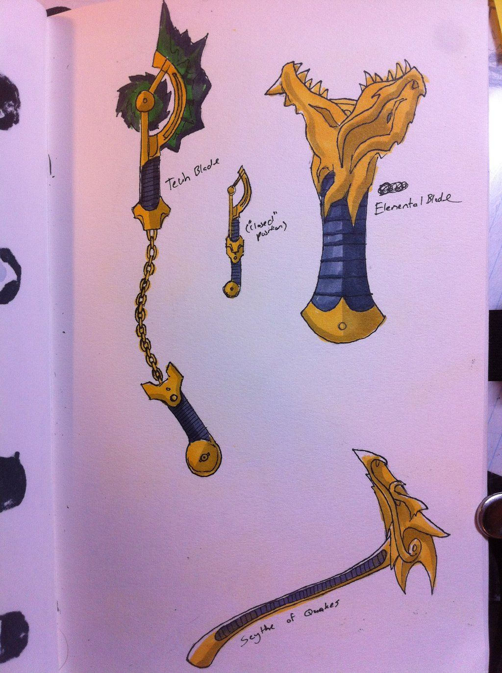 Cole 39 s arsenal by on deviantart for Kinderzimmer ninjago