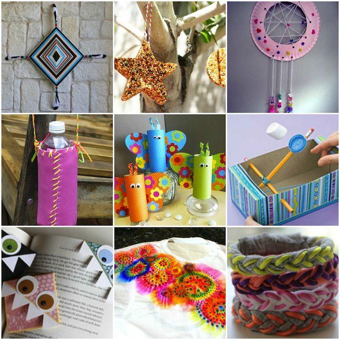 """25 """"summer camp"""" crafts for kids"""
