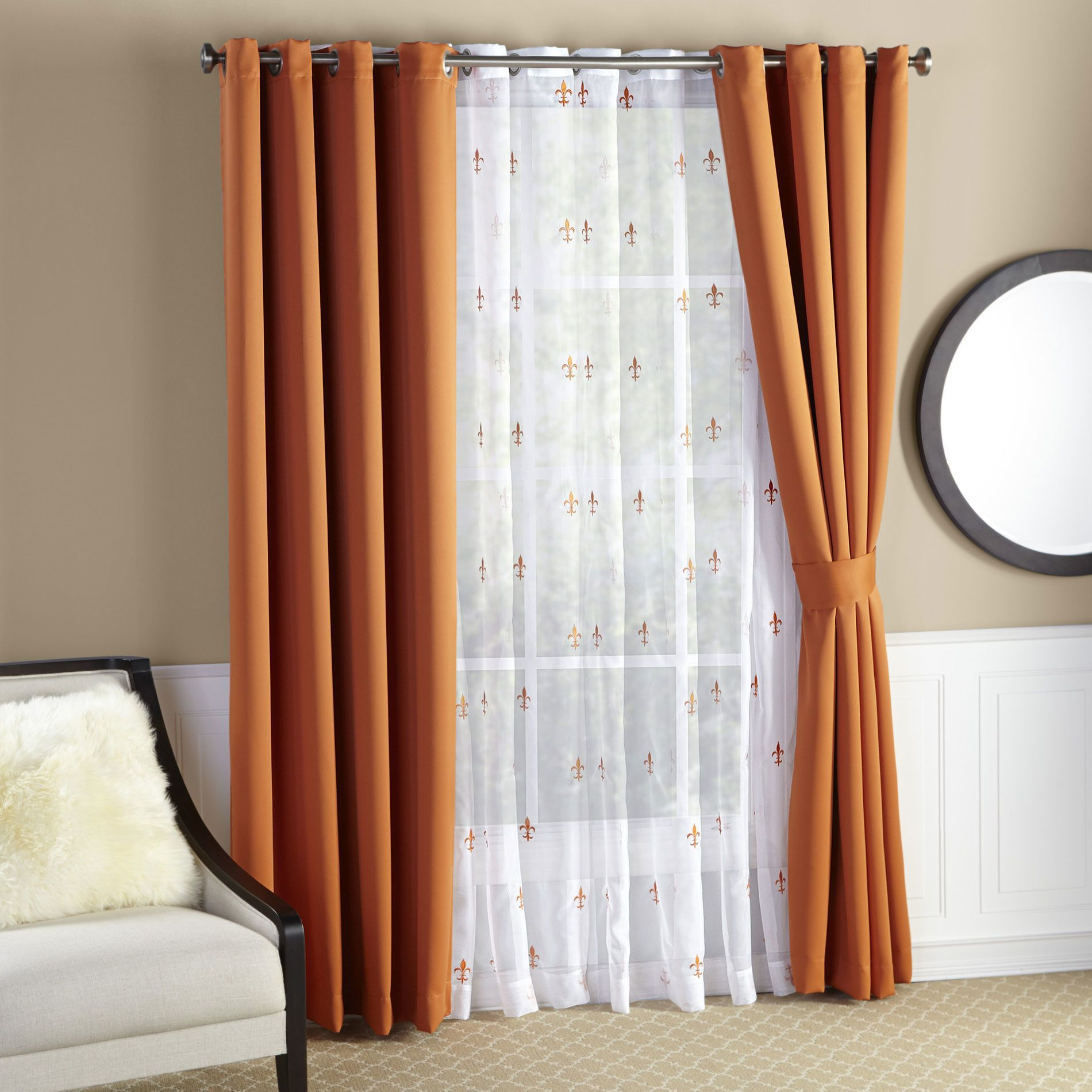Grommet Curtains, Insulated