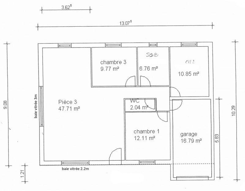 Rsultat De Recherche DImages Pour Plan Maison  Chambres Plain