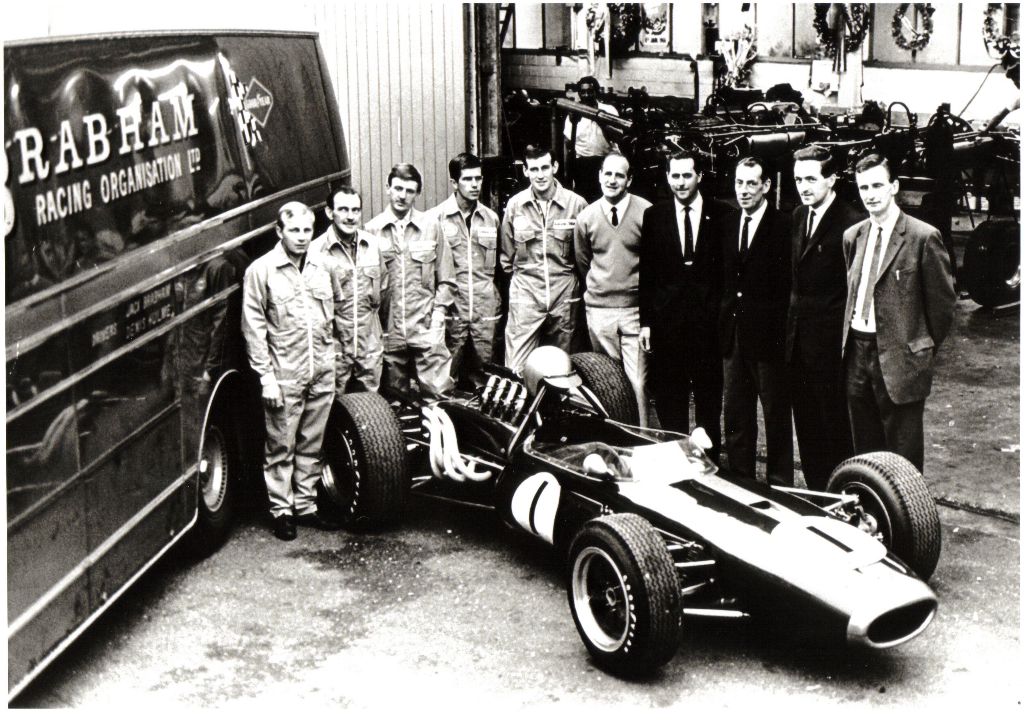 Brabham F1 Winning Team 1966 1967