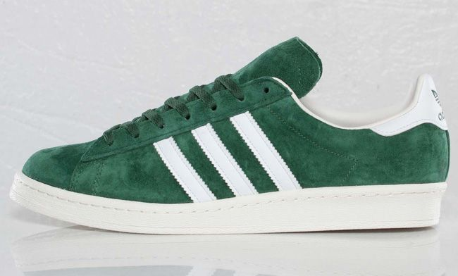 huge discount 0afc6 a64a9 adidas Originals Campus 80s  Dark Green