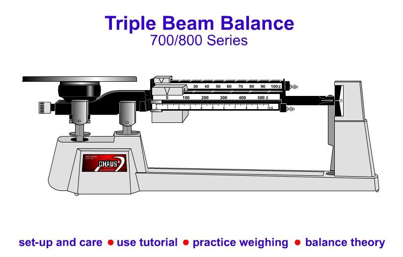 Free Digital Measurement Practice With Triple Beam Balances