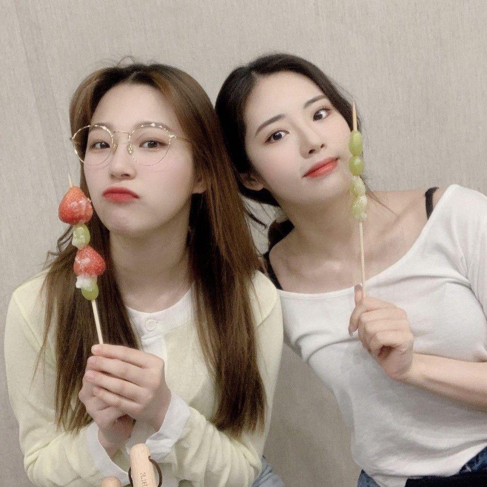"♡Fromis_9 Park Jiwon, Baek Jiheon♡ (박지원, 백지헌) ""Vlive"