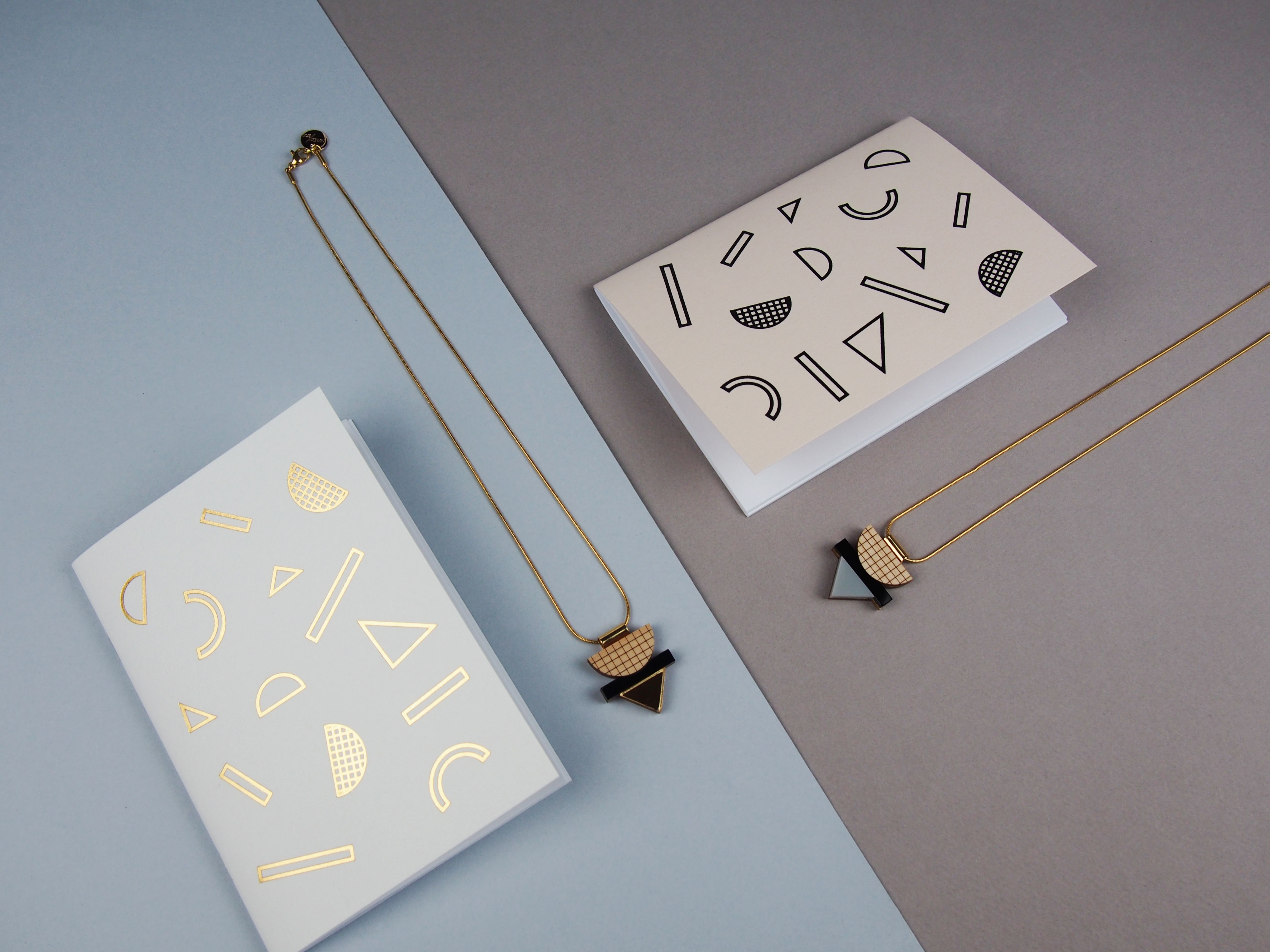 @NylonSkyPins  are a #jewellery and #stationery brand, inspired by a love for architecture and #graphic form. Nylon Sky started producing #statement jewellery in 2011 and have been developing their signature style ever since. Last year saw the launch of their first stationery range, echoing the #geometric form of their jewellery pieces.