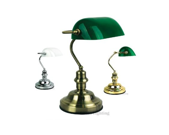 Bankers Touch Table Lamp 3 Stage Dimmable Antique Brass Brass Or Chrome Ol99458 Touch Lamp Touch Table Lamps Table Lamp