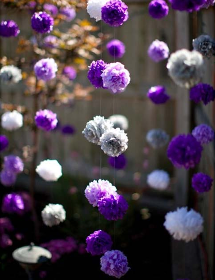 Love This Idea Not Sure I Can Afford It Purple Flower