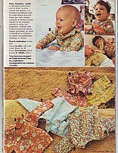 baby bunch : dress, tunic (peter pan & pierrot collar) & diaper cover #sewing #pattern #100idees
