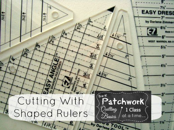 how to cut fabric straight for quilting