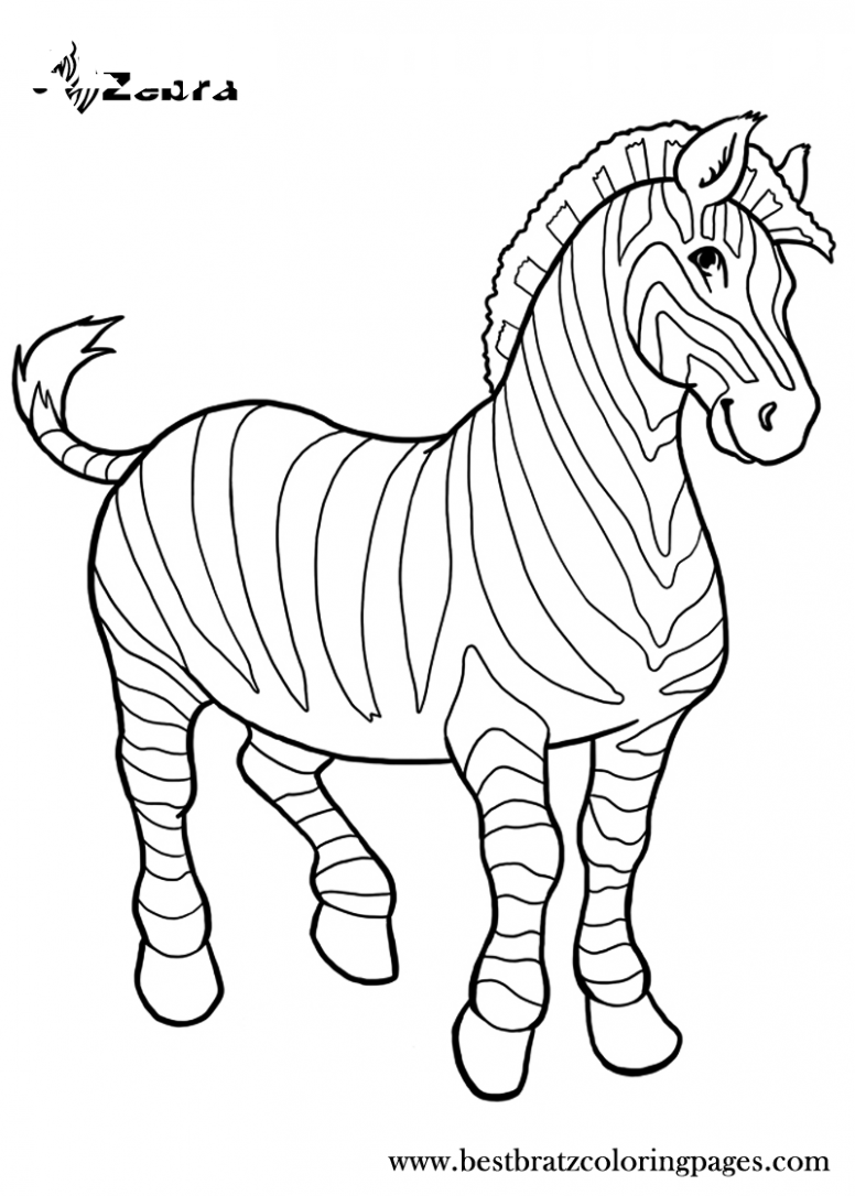 8 Zebra Coloring Page In 2020 Zebra Coloring Pages Zoo Animal Coloring Pages Animal Coloring Pages