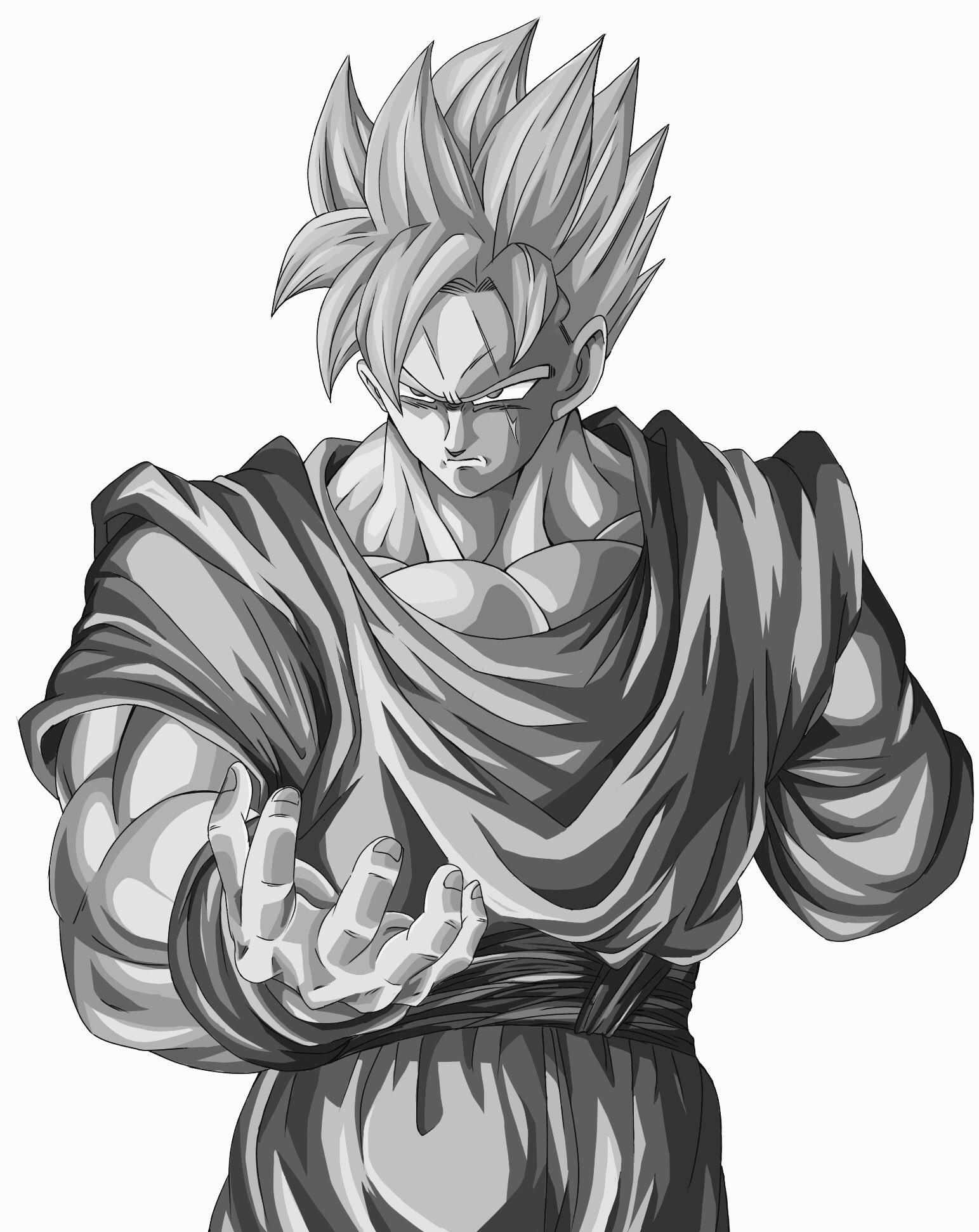 Nett Goku Malvorlagen Ideen - Beispielzusammenfassung Ideen ...