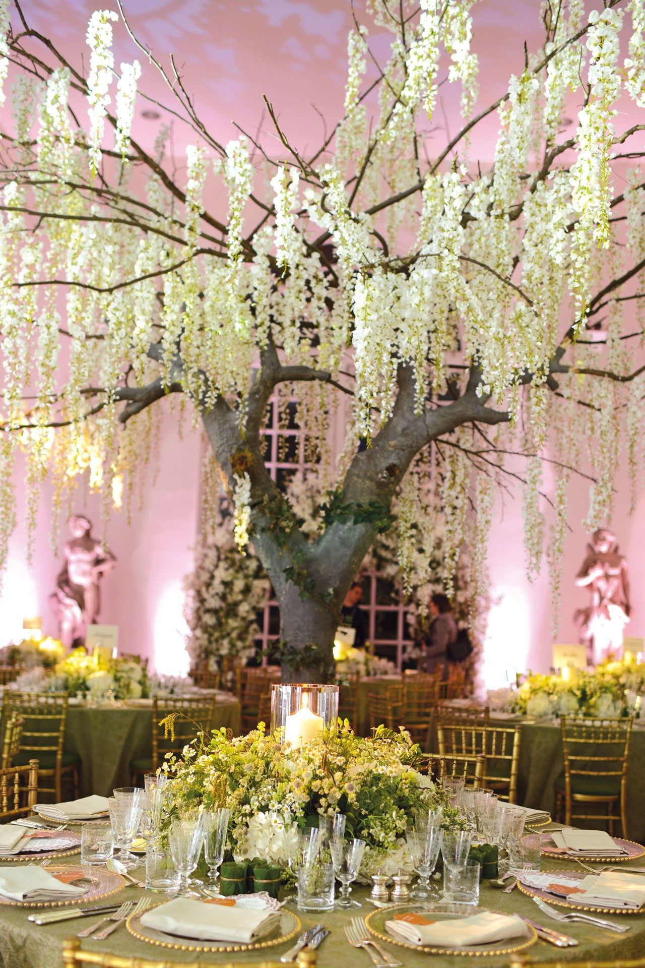 Enter the enchanted forest for Wedding reception location ideas