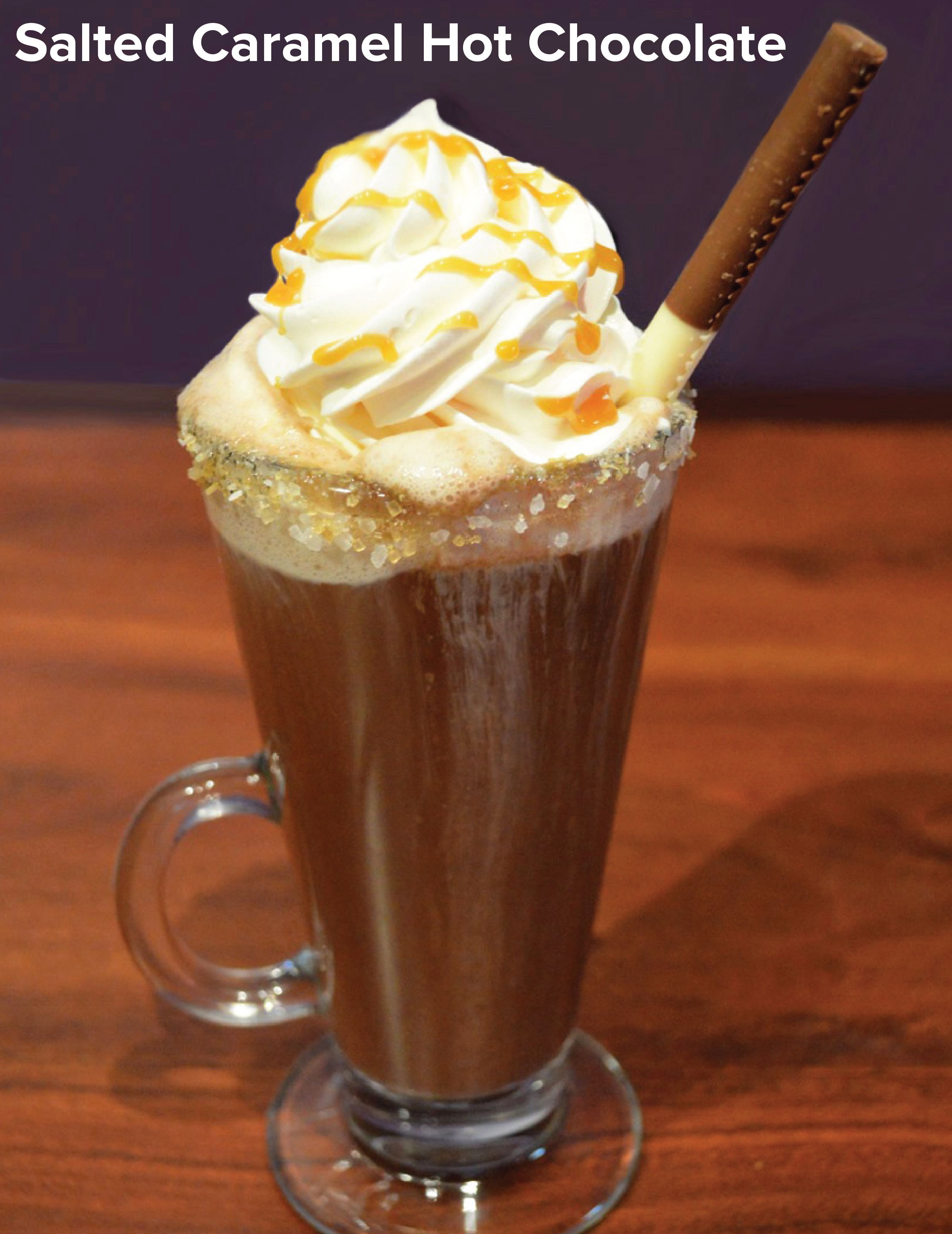 Salted Caramel Hot Chocolate - Salted Caramel Pinnacle Vodka ...