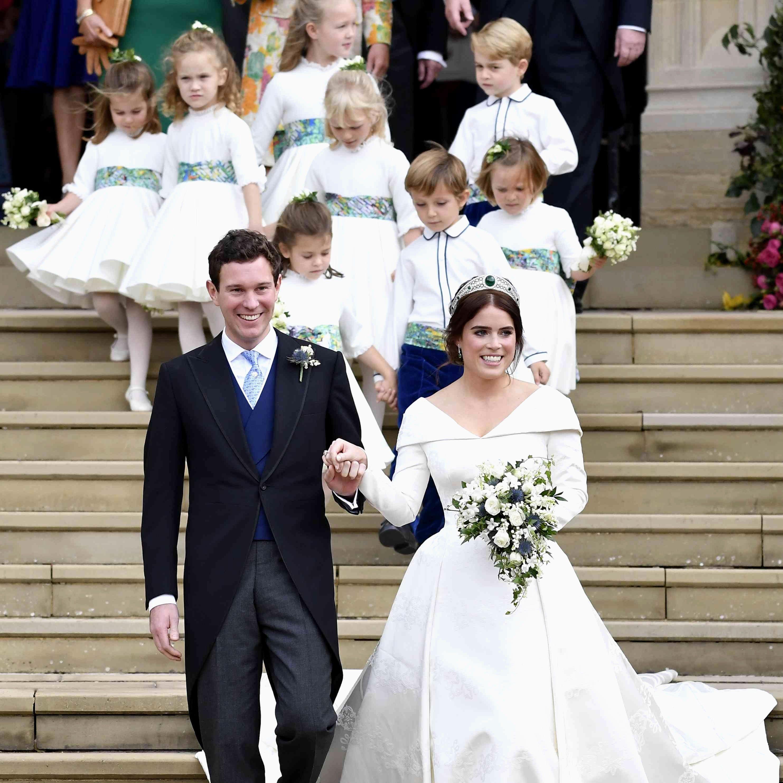 Royal Wedding Reception Dress Fresh How Princess Eugenie S Royal Wedding Pares To Princ Princess Diana Wedding Dress Wedding Dress Cost Wedding Reception Dress [ 2965 x 2965 Pixel ]