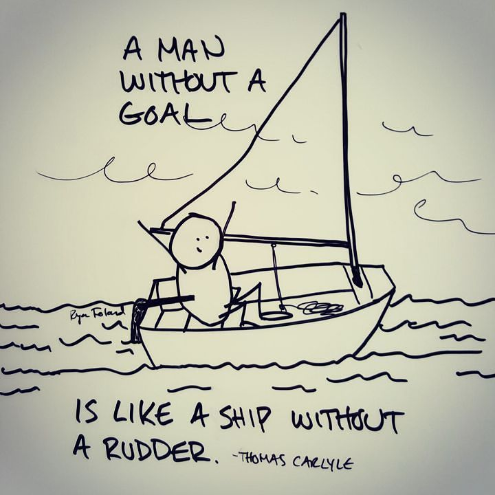 A rudder is what helps you to steer your #sailboat to your destination.  A #goal is what helps to steer you towards your #dreams.  Keep your hand on the rudder and get to where you want to go.  #sailing #goals by ryan.foland