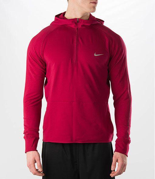 d138c4790c9e NWT Men s Nike Dri-FIT Sprint Half-Zip Hoodie SIZE XL  NIKE  ShirtsTops
