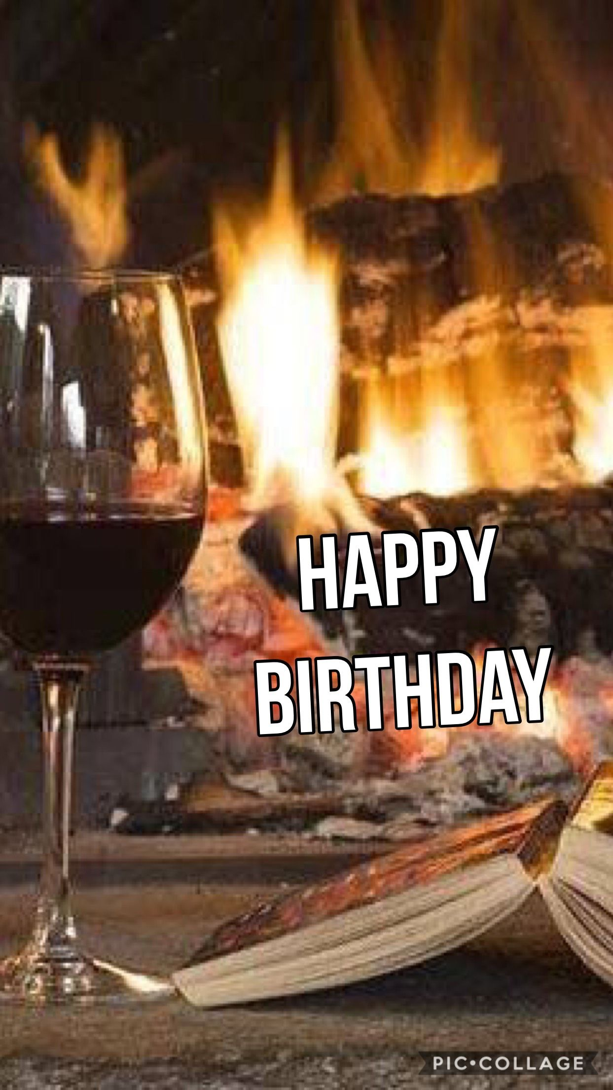 Happy Birthday Wine A Great Book And A Roaring Fire Happy Birthday Wine Happy Birthday Man Happy Birthday