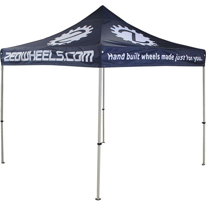 Zedwheels.com Custom Promotional Tent